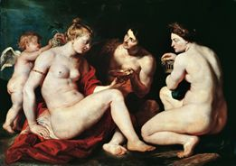 Venus, Cupid, Bacchus and Ceres   Peter Rubens