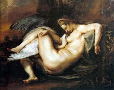 Leda and the Swan   Peter Rubens