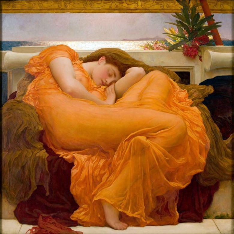 Burning June   Frederick Leighton