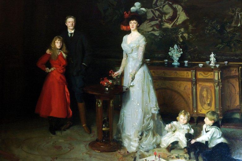 Sir George Sitwell, Lady Ida Sitwell και τα παιδιά τους   John Sargent