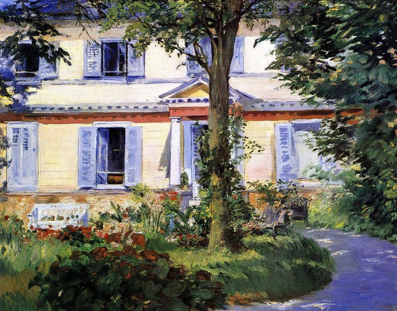 Ruelle House   Edouard Manet