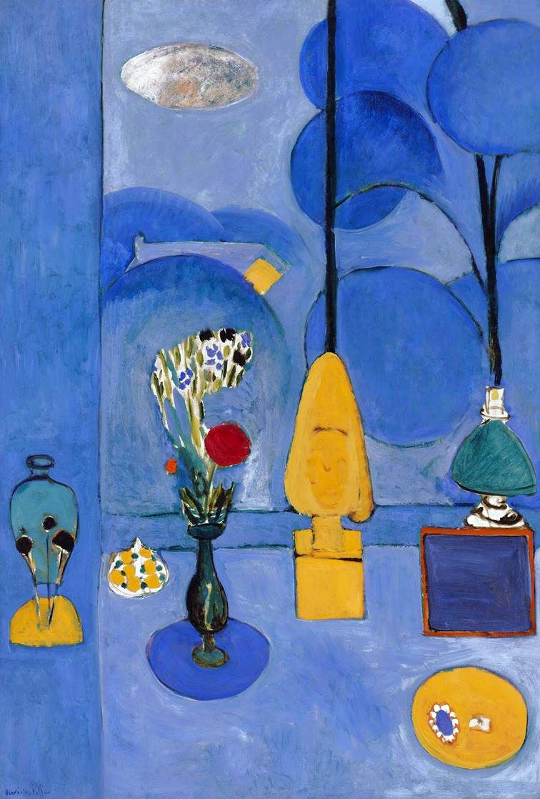 Blue Window   Henri Matisse