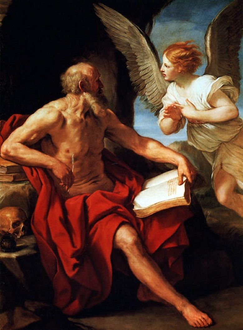 Saint Jerome and the Angel   Guido Reni