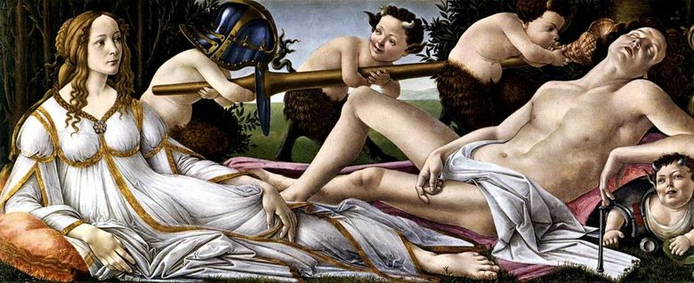 Venus and Mars   Sandro Botticelli