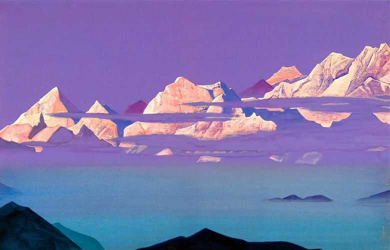Pink Mountains   Nicholas Roerich