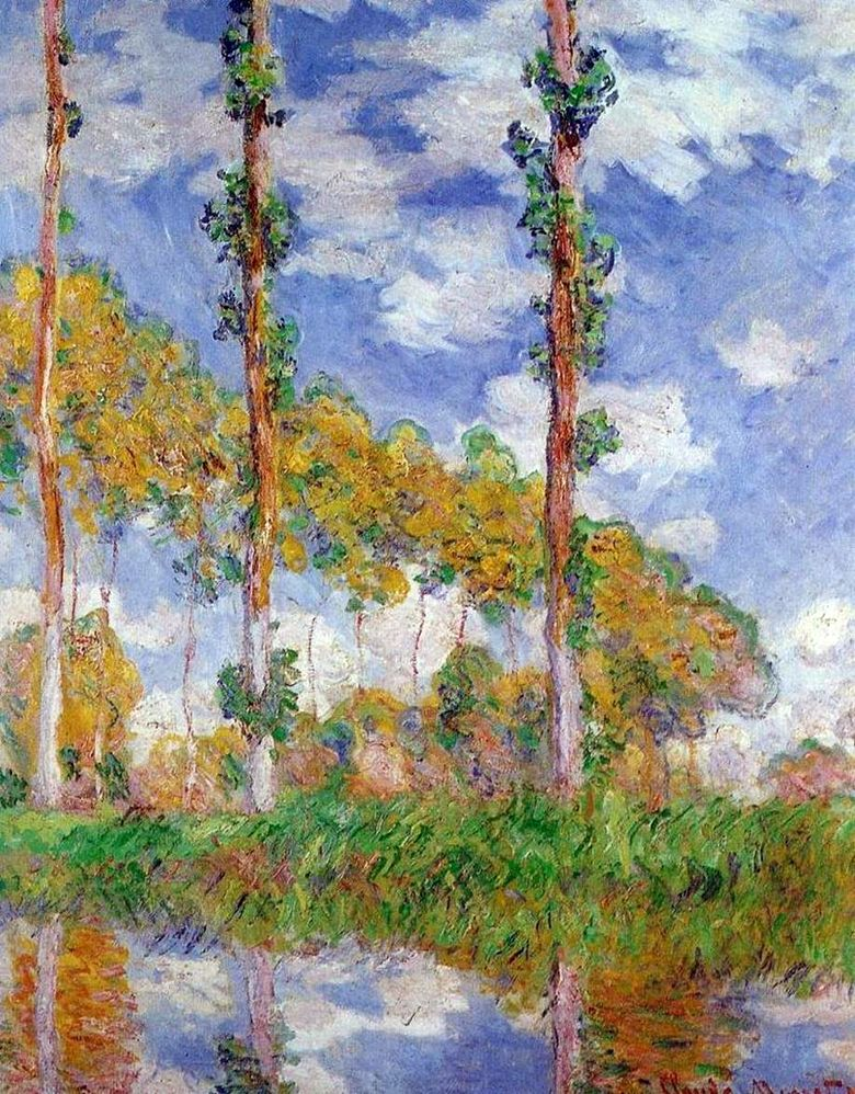 Poplar Series   Claude Monet