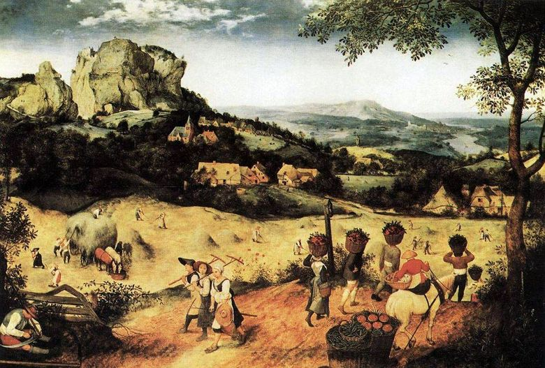 Haymaking   Peter Brueghel